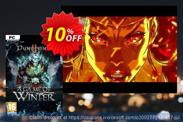 Dungeons 2 A Game of Winter PC discount 10% OFF, 2020 Back to School Promos discounts
