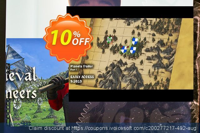 Medieval Engineers PC discount 10% OFF, 2020 Back-to-School promotions offer
