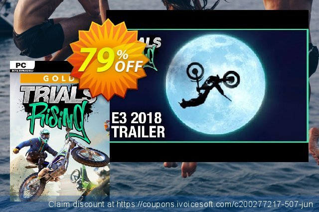 Trials Rising Gold Edition PC discount 59% OFF, 2020 College Student deals promotions