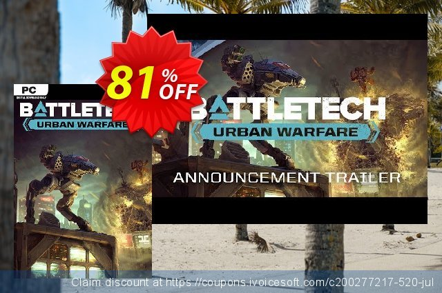 Battletech Urban Warfare DLC PC discount 69% OFF, 2020 Exclusive Student discount offering sales