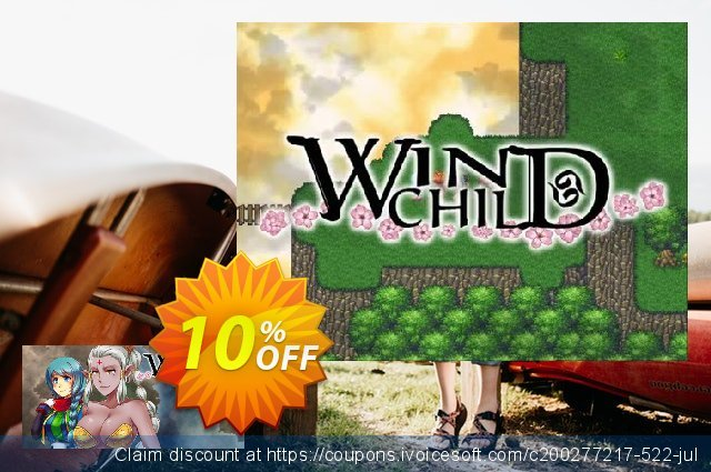 Wind Child PC discount 10% OFF, 2020 Halloween offering sales