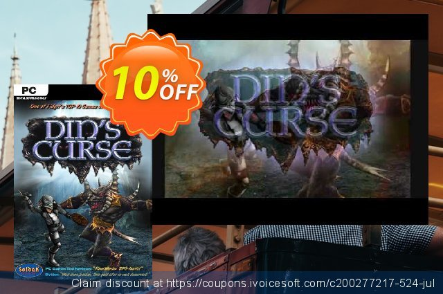 Din's Curse PC discount 10% OFF, 2020 Halloween discounts
