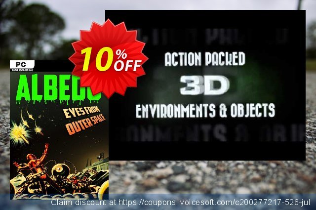 Albedo Eyes from Outer Space PC discount 10% OFF, 2021 Mother Day offering sales. Albedo Eyes from Outer Space PC Deal