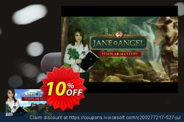 Jane Angel Templar Mystery PC discount 10% OFF, 2020 College Student deals sales