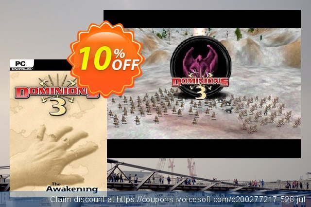 Dominions 3 The Awakening PC discount 10% OFF, 2020 Halloween offer