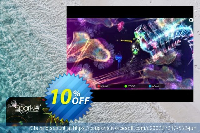 Sparkle 2 Evo PC discount 10% OFF, 2020 Back to School promo offering discount