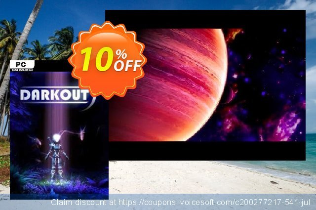 Darkout PC discount 10% OFF, 2020 Exclusive Student discount offering sales