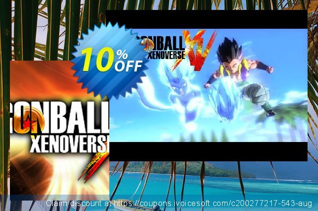 DRAGON BALL XENOVERSE PC discount 10% OFF, 2021 January promo