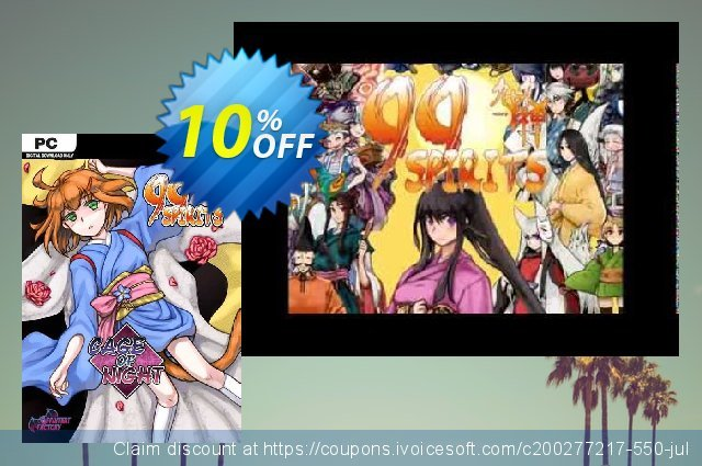 99 Spirits Cage of Night PC discount 10% OFF, 2020 Back to School Promos offering discount