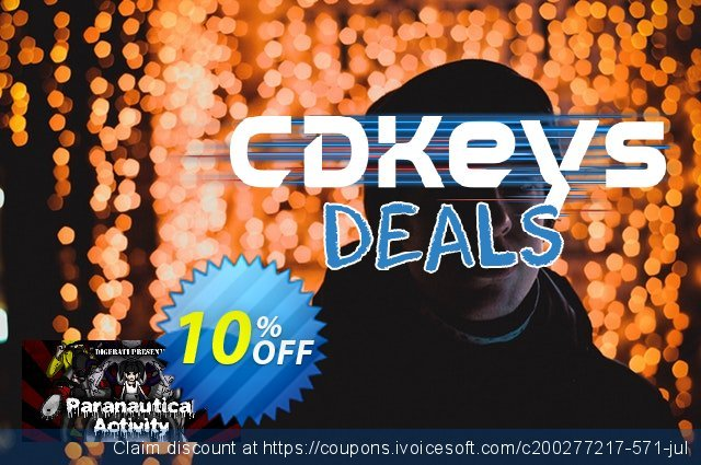Paranautical Activity Deluxe Atonement Edition PC discount 10% OFF, 2020 College Student deals offering sales