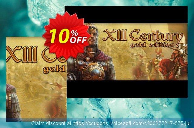XIII Century – Gold Edition PC 最佳的 促销销售 软件截图