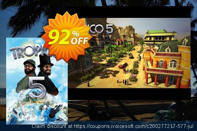 Tropico 5 PC discount 87% OFF, 2020 Back to School shopping offering sales