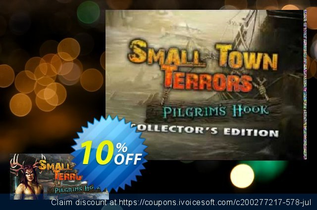 Small Town Terrors Pilgrim's Hook Collector's Edition PC discount 10% OFF, 2020 Back to School offer offering sales