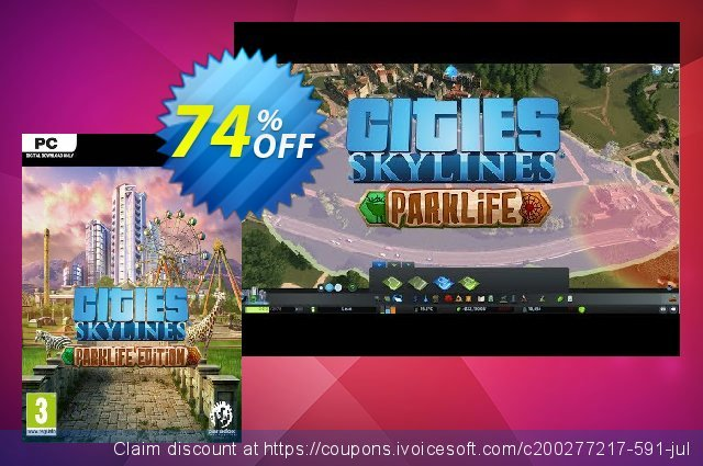 Cities: Skylines - Parklife Edition PC  굉장한   제공  스크린 샷