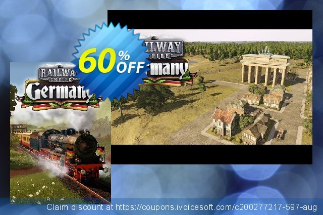 Railway Empire PC - Germany DLC discount 60% OFF, 2020 Back to School deals offering sales