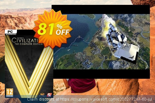 Sid Meier's Civilization V 5 - The Complete Edition PC 驚き 推進 スクリーンショット