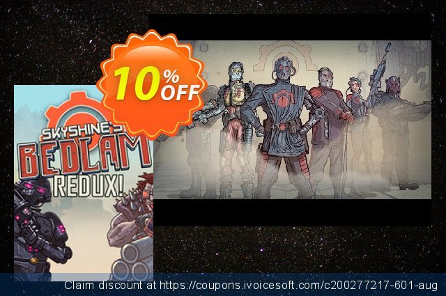 Skyshine's BEDLAM PC discount 10% OFF, 2020 Halloween promotions