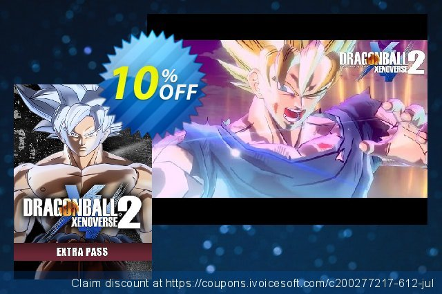 Dragon Ball Xenoverse 2 PC - Extra Pass DLC discount 56% OFF, 2020 College Student deals offering sales