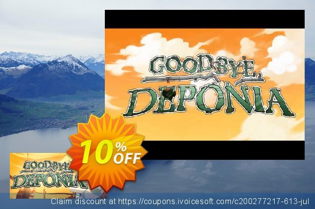 Goodbye Deponia PC discount 10% OFF, 2020 Back to School Promos offering sales