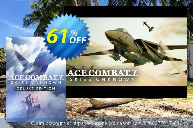 Ace Combat 7 Skies Unknown Deluxe Edition PC  굉장한   할인  스크린 샷