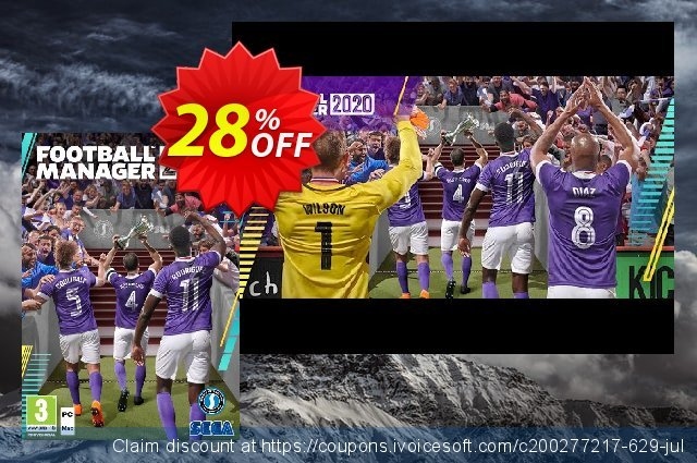 Football Manager 2020 PC Inc Beta (EU) discount 28% OFF, 2021 Easter day offer