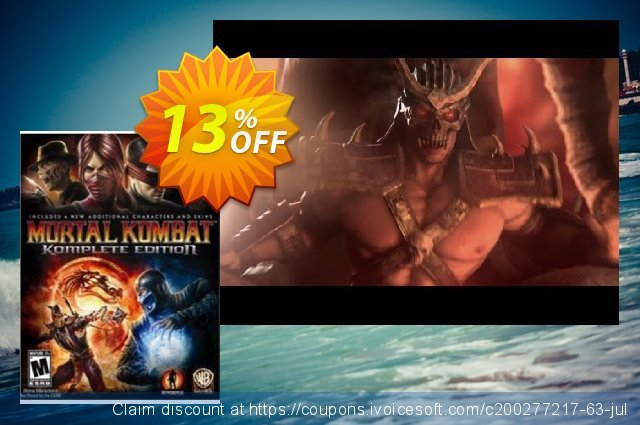 Mortal Kombat Komplete Edition PC discount 63% OFF, 2021 Mother's Day offering sales. Mortal Kombat Komplete Edition PC Deal