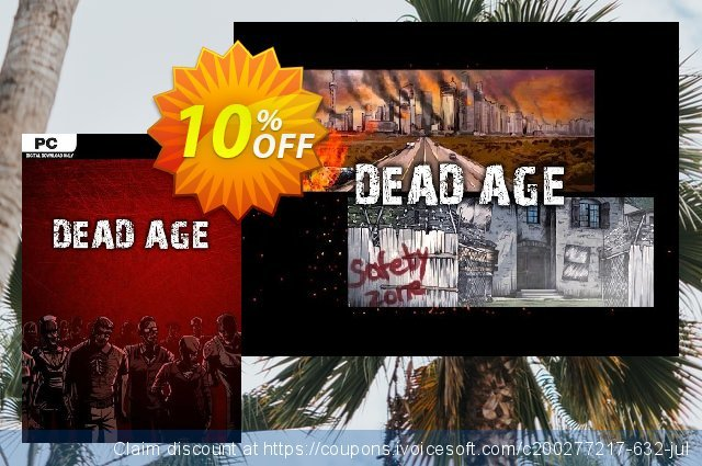 Dead Age PC discount 10% OFF, 2020 College Student deals offering sales