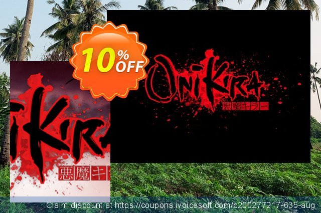 Onikira Demon Killer PC discount 10% OFF, 2020 Back to School promotion offering sales