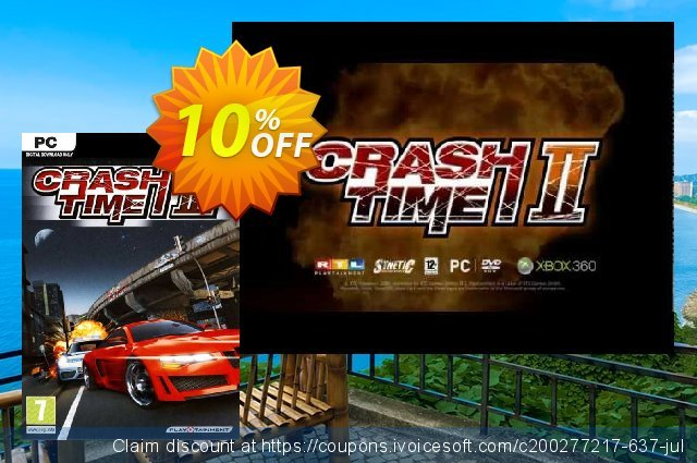 Crash Time 2 PC discount 10% OFF, 2021 Mother's Day offering sales. Crash Time 2 PC Deal