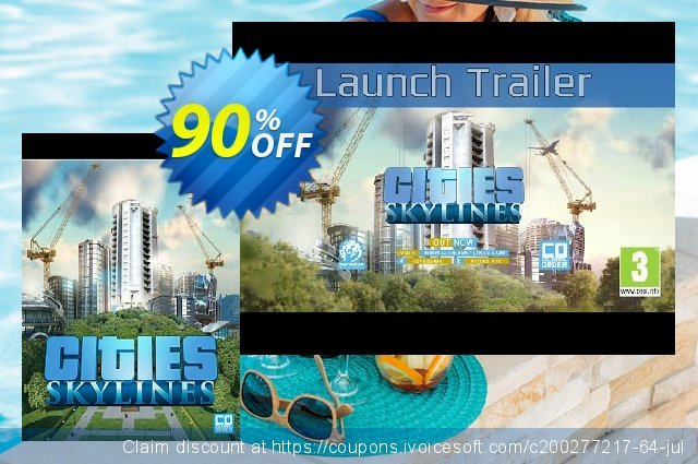 Cities: Skylines PC/Mac discount 83% OFF, 2020 Xmas Day offering sales