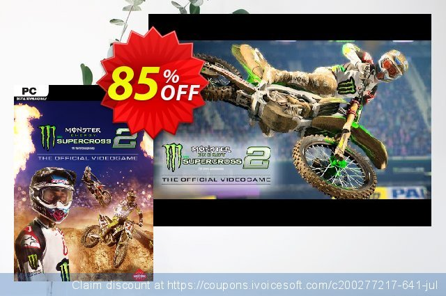 Monster Energy Supercross - The Official Videogame 2 PC  멋있어요   가격을 제시하다  스크린 샷
