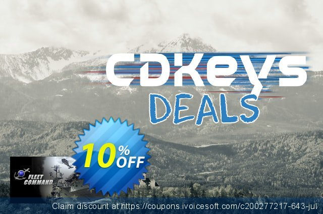 Fleet Command PC discount 10% OFF, 2021 Mother's Day discounts. Fleet Command PC Deal