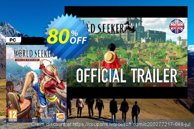 One Piece World Seeker Deluxe Edition PC discount 67% OFF, 2020 University Student offer promo sales