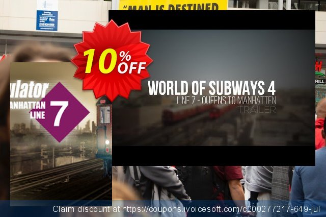 World of Subways 4 – New York Line 7 PC discount 10% OFF, 2020 University Student deals promo
