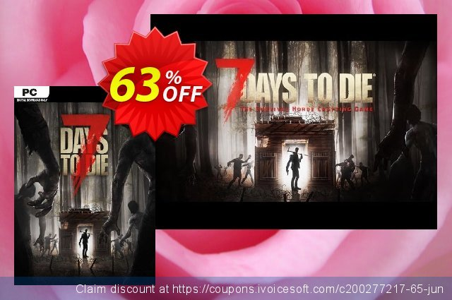 7 Days to Die PC discount 58% OFF, 2021 Mother's Day promo sales. 7 Days to Die PC Deal