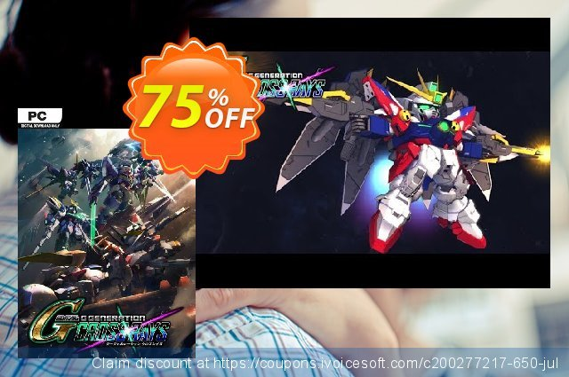 SD Gundam G Generation Cross Rays PC + Pre-Order Bonus 激动的 促销销售 软件截图