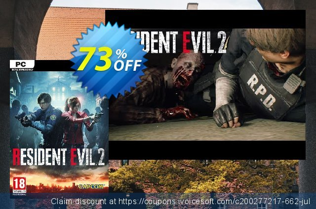 Resident Evil 2 / Biohazard RE:2 PC discount 71% OFF, 2020 Back to School offer offer