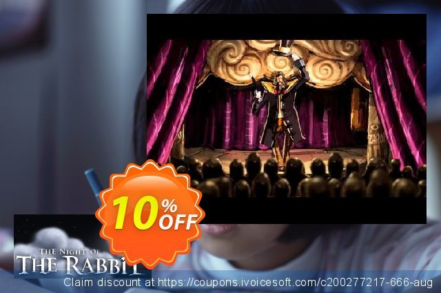 The Night of the Rabbit PC discount 10% OFF, 2021 Working Day offer. The Night of the Rabbit PC Deal