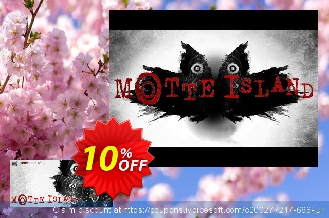 Motte Island PC discount 10% OFF, 2020 Exclusive Teacher discount promo