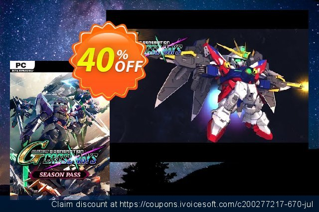 SD Gundam G Generation Cross Rays - Season Pass PC 惊人 优惠 软件截图