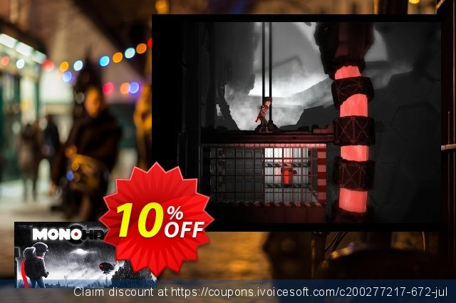 Monochroma PC discount 10% OFF, 2020 College Student deals offering sales