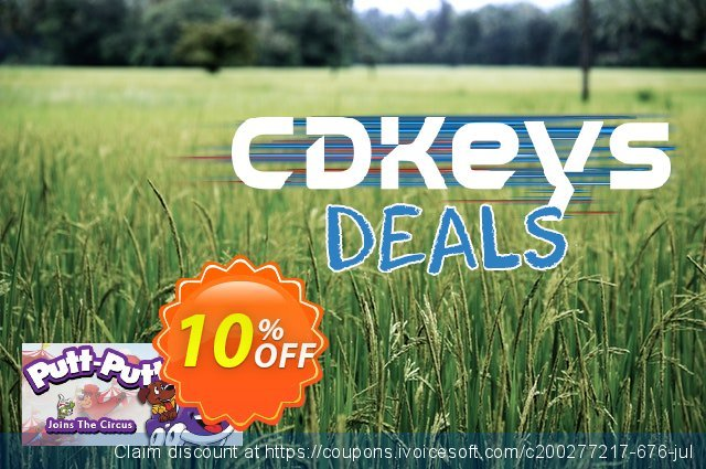 PuttPutt Joins the Circus PC discount 10% OFF, 2020 Halloween discounts