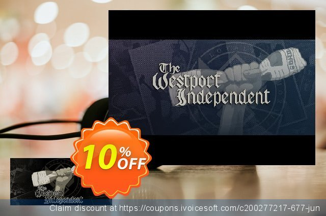 The Westport Independent PC discount 10% OFF, 2020 Back to School Promos offering sales