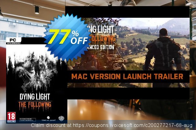 Dying Light: The Following Enhanced Edition PC 棒极了 折扣 软件截图