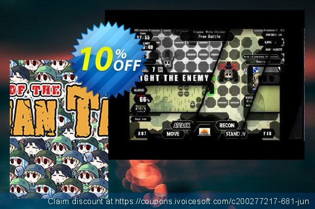 War of the Human Tanks PC discount 10% OFF, 2020 Back to School deals offer