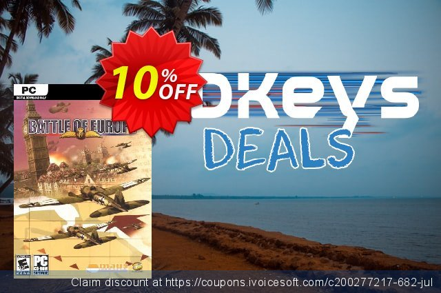 Battle Of Europe PC discount 10% OFF, 2020 Back to School shopping discount