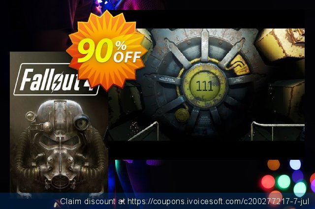 Fallout 4 PC discount 92% OFF, 2021 Spring discounts