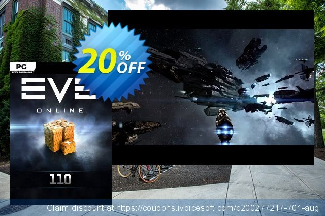 EVE Online - 110 Plex Card PC discount 20% OFF, 2020 Halloween offering discount