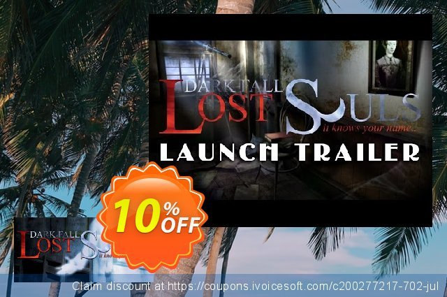 Dark Fall Lost Souls PC discount 10% OFF, 2020 Back to School deals offering discount