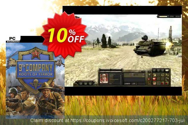 9th Company Roots Of Terror PC discount 10% OFF, 2020 Back to School shopping offering sales